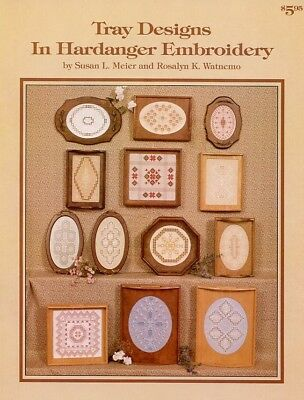 Tray Designs in Hardanger Embroidery Pattern - 30 Days to Shop & Pay