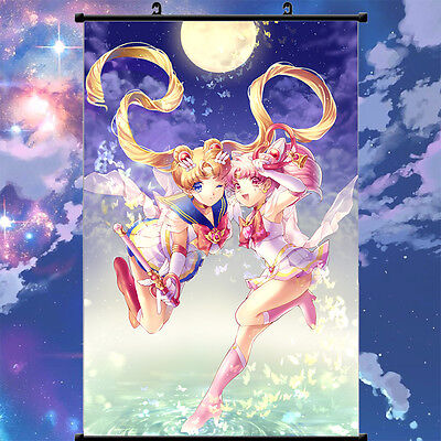 Chibi Usa Sailor Moon Classic Home Decor Poster Wall Scroll Paintings 60cm*40cm