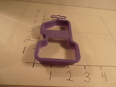 1 Number One 1992 Wilton Cookie Cutter Plastic First Birthday Party You're #1