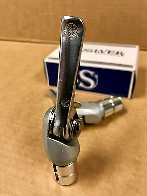 Rivendell Silver bar end shifters. 9 speed friction shifter. Not Dia Compe
