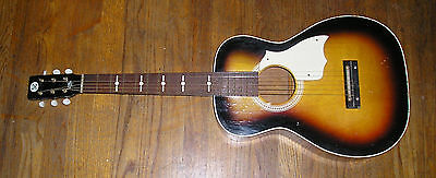 Parlor Guitar  Usa Silvertone-Harmony-Stella-Kay Model F-73 Ml