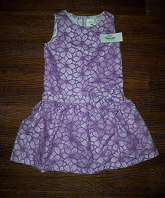 Gymboree Girl Easter Wedding Pageant Dress size 8 Spring Summer Flower Girl NWT