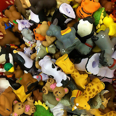 Random 20pcs Toy Fisher-Price Little People Zoo Talkers Animal Figure - no sound