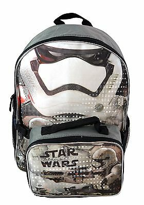 Star Wars Episode 7 Backpack with Lunch Bag