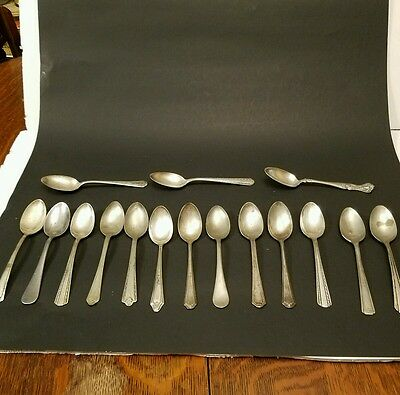 Vintage 11 Pounds of Silver Plate Flatware Silverware for Crafts