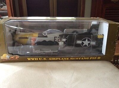 Ultimate Soldier WWII North American P51D Mustang Lou IV 1:18 Airplane