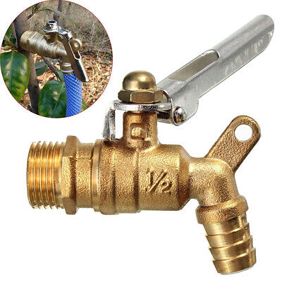 Outdoor Garden Public Places Lockable 1/2 inch Faucet Locked Brass Water Tap