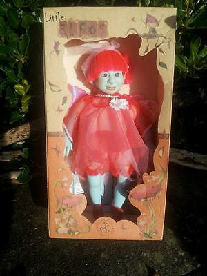 Spring~Fairy/pixie Pink&Blue Girl Doll Little Elfos CollectableToy