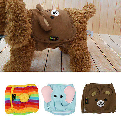 Male Pet Dog Puppy Belly Band Wrap Diaper Nappy Pants Sanitary Underwear