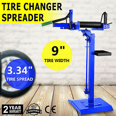 Air-Operated Tire Spreader Changer Repair Machine Patching Wheel Plug Stand HD
