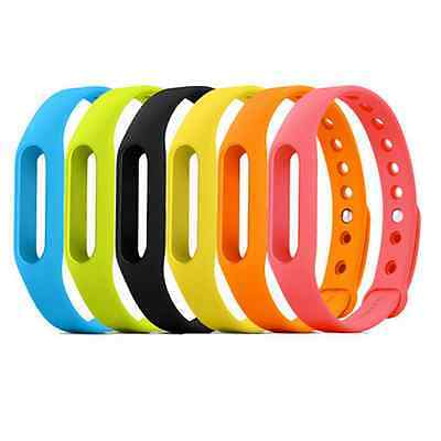 1PCS Replacement Wrist Band for Xiaomi Miband Strap MI Bracelet Buckle Tight FA