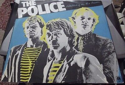 """The Police Walking on the Moon 2-track 1979 12"""" AMSP 7494"""