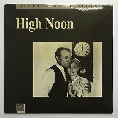Laserdisc High Noon: The Criterion Collection #7A