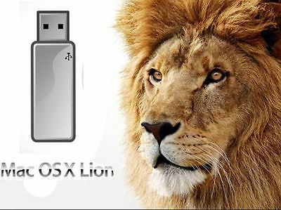  Mac OS X 10.7 LION Bootable USB INSTALL, UPGRADE OR RECOVER NEW 