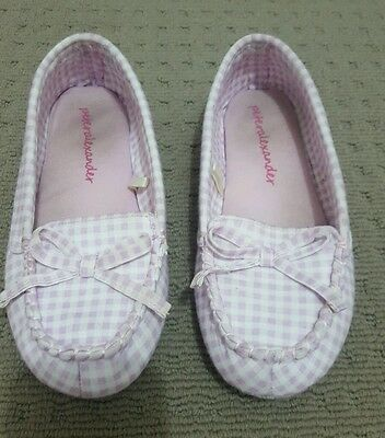 pink size 8 peter Alexander slippers