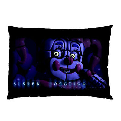 FNAF Five Nights at Freddy's: Sister Location Pillow Case Cover