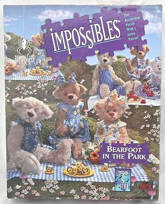 Impossibles Borderless Puzzle 750 PLUS 5 Extra Pieces Barefoot in the Park Puzzl