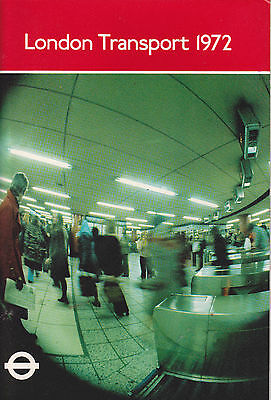 London Transport Executive Annual Report 1972