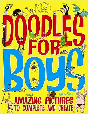 Doodles For Boys (Buster Activity), New, Pinder, Andrew Book