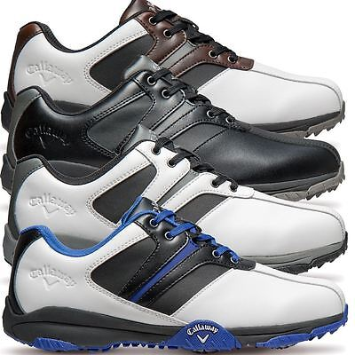 Callaway 2017 Chev Comfort II Leather Upper Water Resistant Mens Golf Shoes