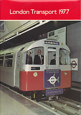London Transport Executive Annual Report 1977