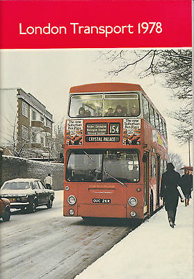 London Transport Executive Annual Report 1978