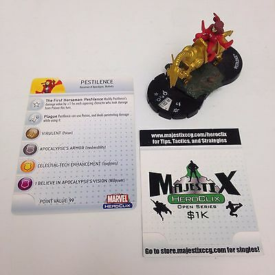 Heroclix 2011 Convention Exclusive Pestilence #201 Limited Edition figure w/card