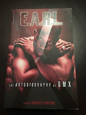 EARL - The Autobiography Of DMX as Told By Smokey D.Fontaine (Book) Paperback
