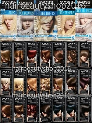Syoss Color Permanent Hair Dye / Colour  Professional Quality