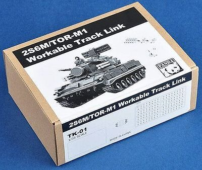 1/35 PANDA HOBBY  Workable track link (for 2S6M, Tor-M1)  PHTK01