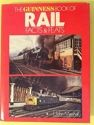Railway Book: The Guinness Book Of Rail Facts And Feats 1979