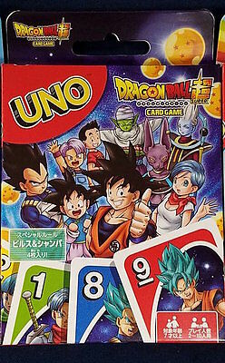 Playing Cards Game UNO Japanese Anime DragonBall Super Ensky Japan F/S