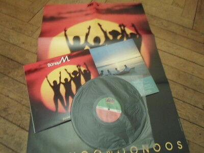 LP Boney M.   Boonoonoonoos   + POSTER AUSTRALIA!!!  RECORD Near Mint! Cover Ex