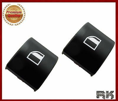 2x BMW E46 3 SERIES WINDOW SWITCH POWER BUTTON CAP COVER LEFT OR RIGHT 1998-2005