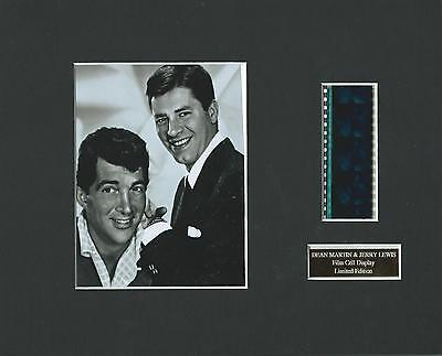Dean Martin & Jerry Lewis Film Cell Display Limited Edition  Extremely Rare