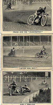 Toughs of the Track 1929. Nos. 2,3 & 8. Issued with Triumph & Champion
