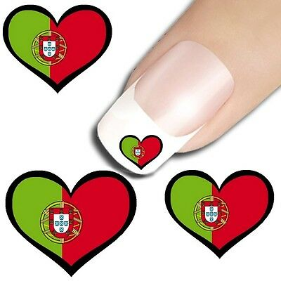 15 sticker ongles nail art decoration ongle stickers coeur pays drapeau au choix