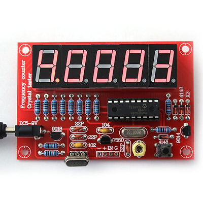 DIY Digital LED 1Hz-50MHz Crystal Oscillator Frequency Counter Meter Tester Orew