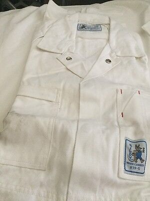 Mens Overalls Painters White -Size 87R All Cotton
