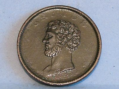 Walthamstow **brutus* Britannia In Wreath *  Halfpenny Token 19Th Cent (3)