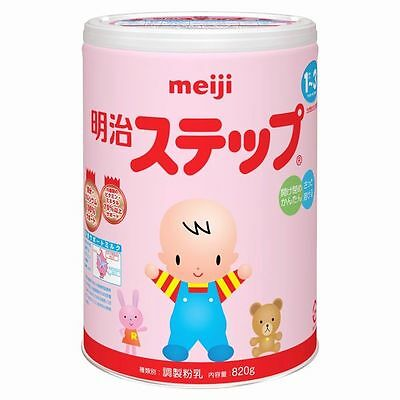 Meiji Step baby powdered milk melts quickly 820g Japan New