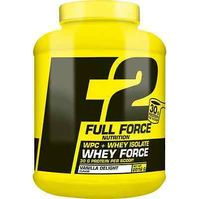 Whey Force 2016g Full Force Contrat + Isolat Proteine Musculation Fitness BCAA