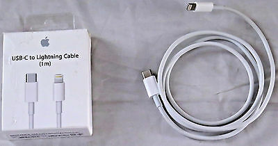 Apple 3.3' USB Type C-to-Lightning Charging Cable (MK0X2AM/A) OPEN BOX