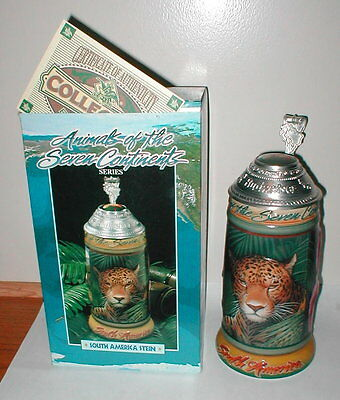 2001 Budweiser South American Stein CS462  Animals of the Seven Continents