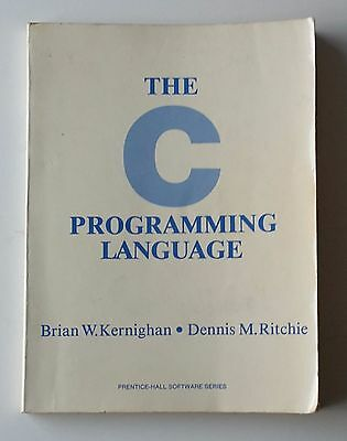 The C Programming Language - Kernighan and Ritchie