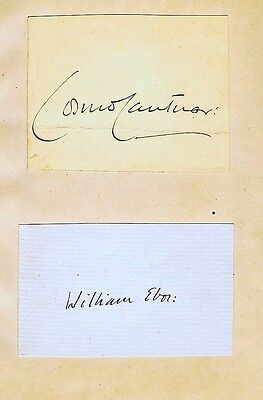 An Album Of More Than 100 Clerical Autographs From The 1920's, 1930's & 1940's