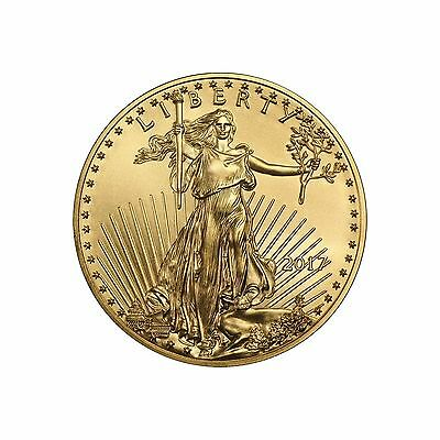 2017 1/4oz Gold American Eagle BU