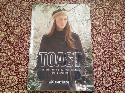Toast clothing catalogue late 2007 Country Living magazine