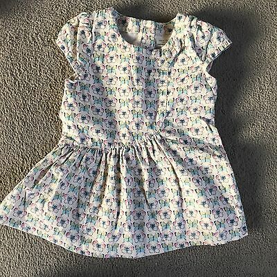 NEXT 3-6 Months Butterfly Dress Baby Girl Clothes Outfit