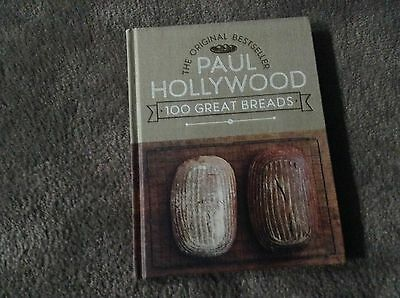 100 Great Breads by Paul Hollywood Hardcover Book
